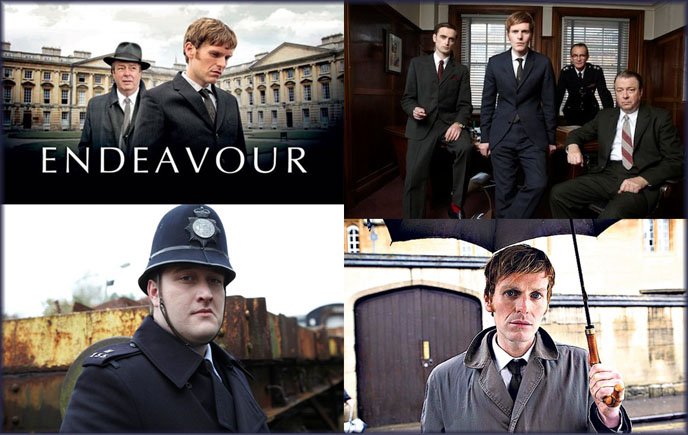 Endeavour; Inspector Morse tv series