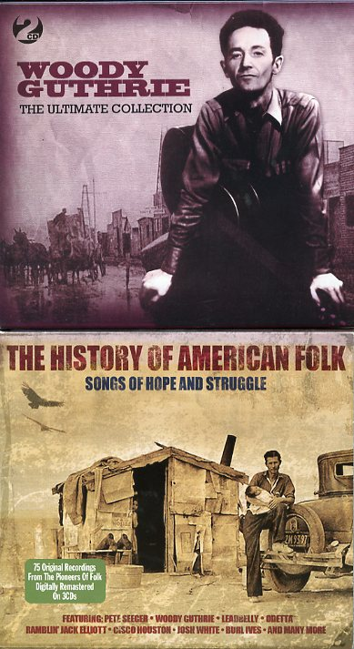 Woody Guthrie & History of American Folk