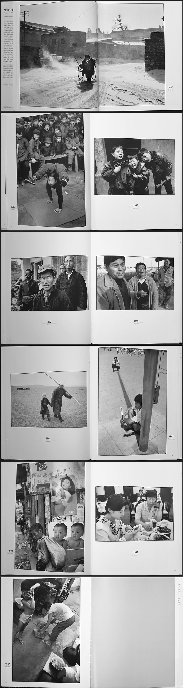 Marc Riboud, In China - photography