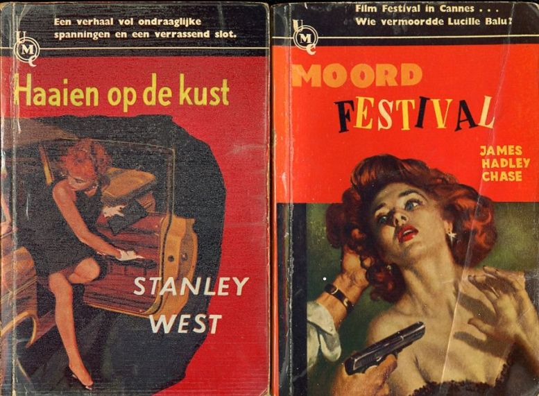 Stanley West crime writer