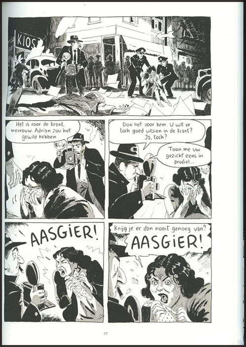 Weegee, graphic novel