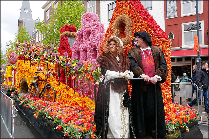 Flowerparade in Haarlem (2017Apr23)