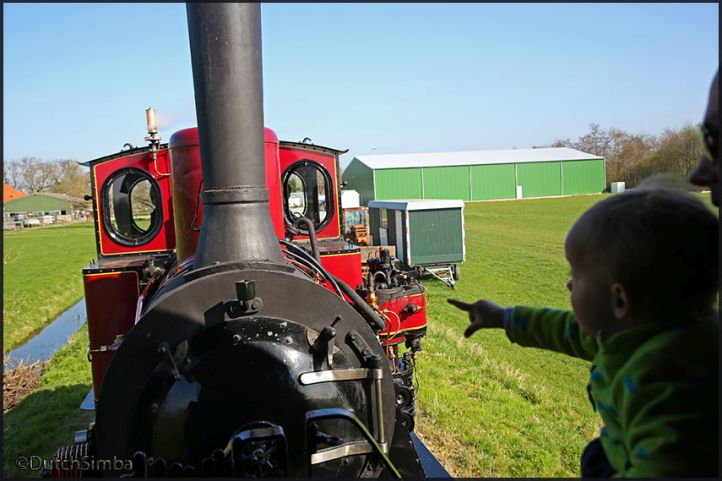 Steam locomotive 'Medemblik'