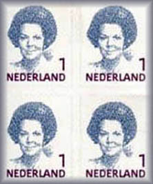Stamps in Netherlands