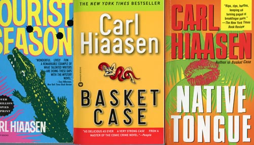 Books by Carl Hiaasen