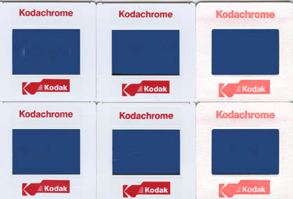 Kodachrome slide film