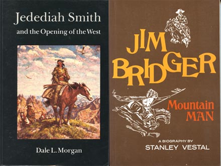 Mountain Men Jim Bridger and Jedediah Smith